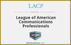 league of american communications professionals logo
